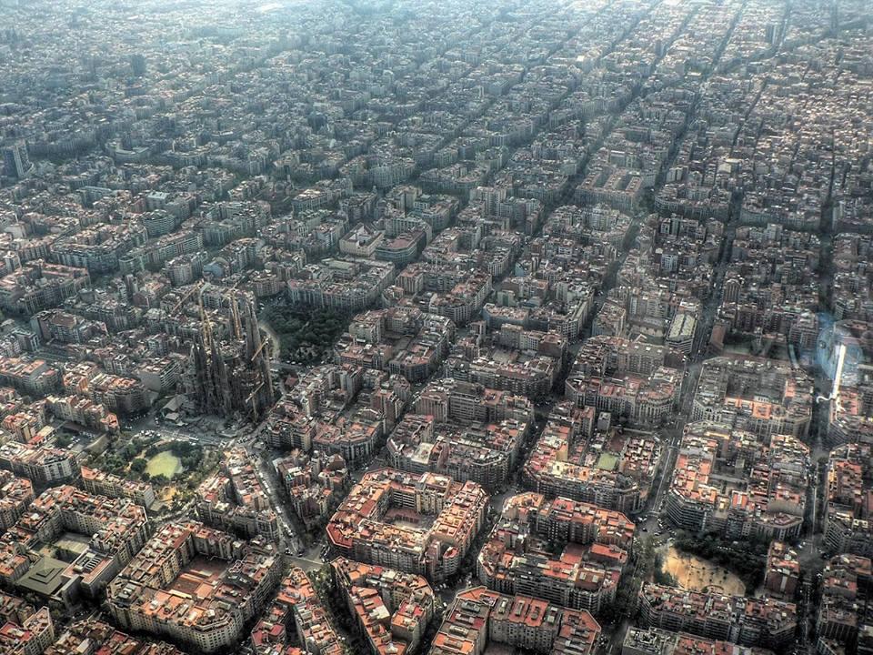 fotografia-aerea-Barcelona-España