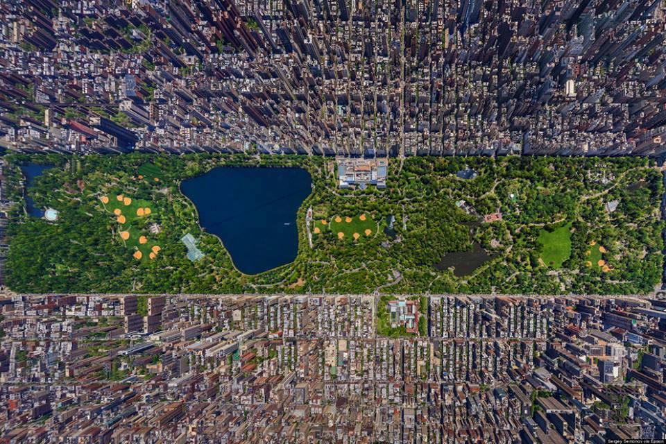 fotografia-aerea-Central-Park-Nueva-York-Estados-Unidos