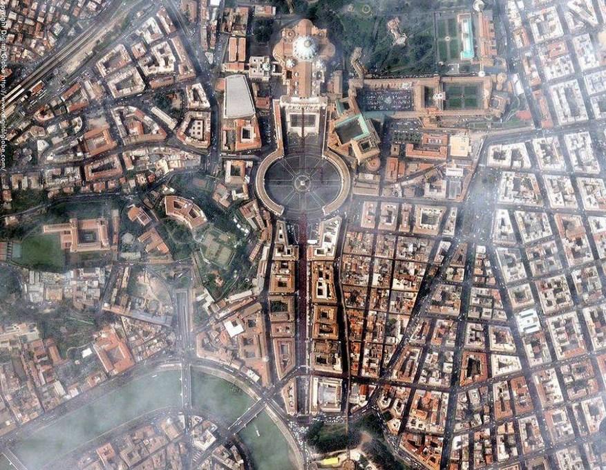 fotografia-aerea-Ciudad-del-Vaticano-Italia