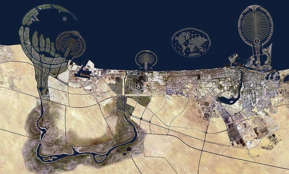 fotografia-aerea-Dubai-Emiratos-Arabes-Unidos