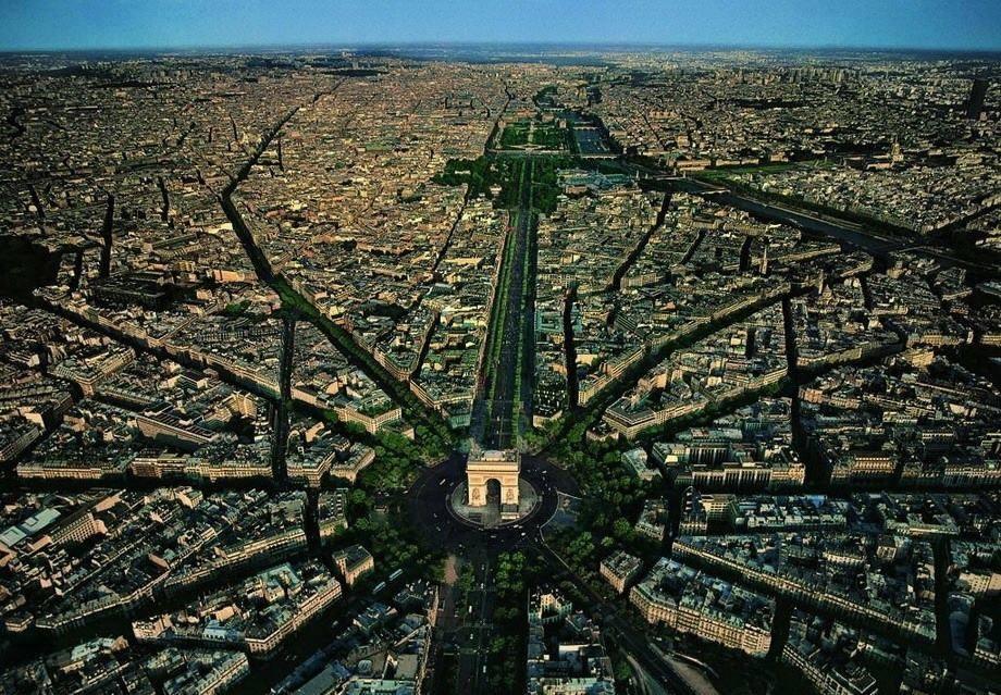 fotografia-aerea-Paris-Francia