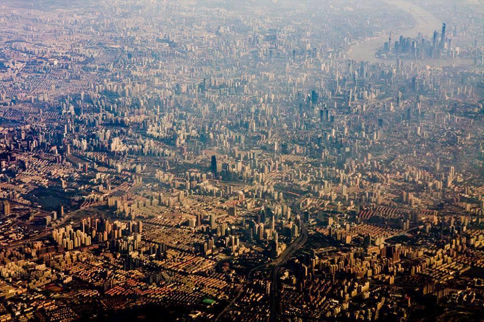 fotografia-aerea-Shanghai-China