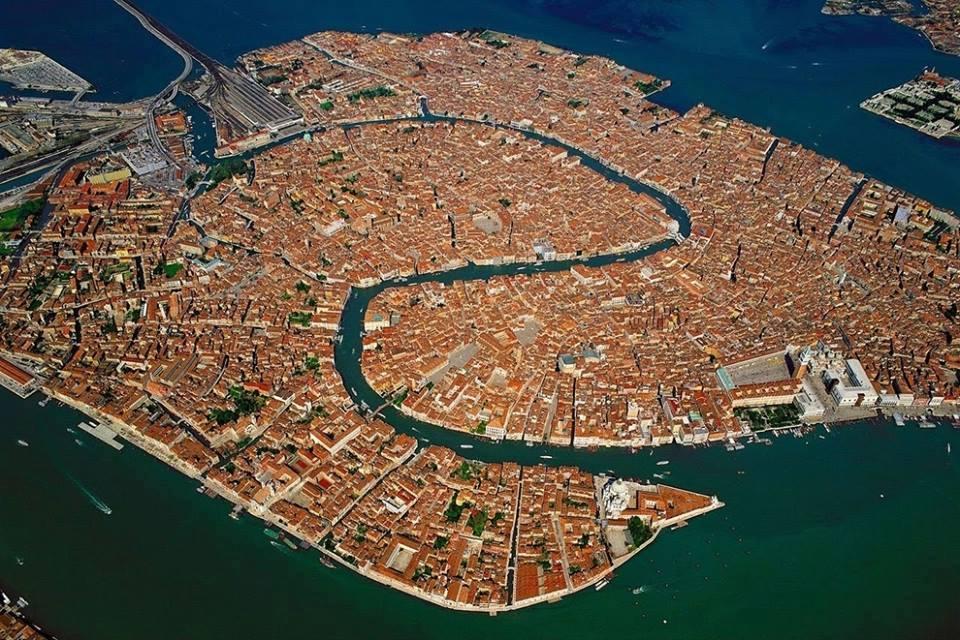 fotografia-aerea-Venecia-Italia