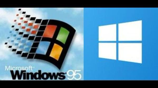 windows 95 y windows 10