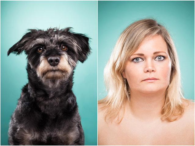 Cindy y su perro Charly