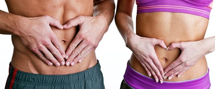hacer bien abdominales