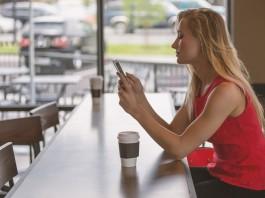 apps smartphone dieta adelgazar mujer cafe
